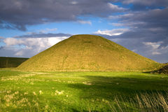 Neolithic site of Silbury Hill, Avebury, Wiltshire, UK Royalty Free Stock Photography