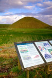 Neolithic site of Silbury Hill, near Avebury, Wiltshire, UK Royalty Free Stock Photography