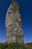 Neolithic standing stone , Anglesey Stock Photo