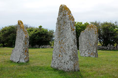 Neolithic stones in Seby Royalty Free Stock Images