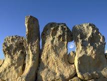 neolithic tempel Arkivbild