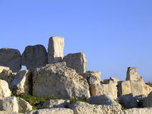 Neolithic Temple Stock Photography