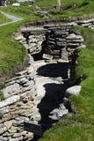Neolithischer bleibender Skara Brae; Lizenzfreies Stockbild