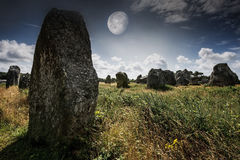 Neolitic megaliths Royalty Free Stock Image