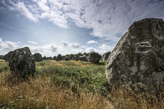 Neolitic megaliths Stock Image