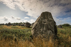 Neolitic menhirs Royalty Free Stock Images