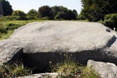 Neolityczny dolmen w Brittany obraz royalty free