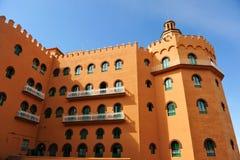 Neomoorish architecture in Granada, Andalusia, Spain Stock Photos