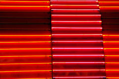 Neon. Detail of neon sign Royalty Free Stock Photos