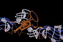 neon Fotografia Stock