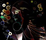 Neon Royalty-vrije Stock Afbeeldingen