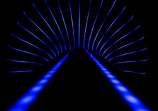 Neon abstract background Stock Photo