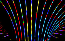 Neon abstract background Stock Image