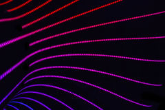 Neon abstract background Royalty Free Stock Photos
