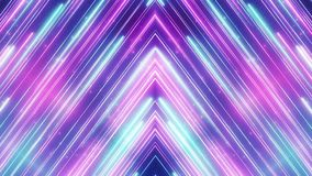 Neon abstract line animation VJ background stock footage
