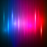 Neon abstract lines design on dark  background Stock Image