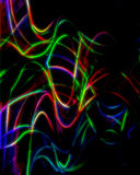 Neon abstract string background stock illustration