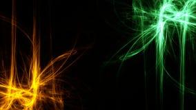 Neon Achtergrondsleeplichten stock illustratie