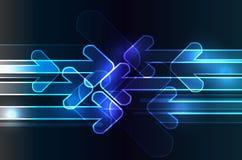 Neon_arrows Illustration Stock