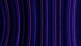 Neon background of lines. Fast moving neon vertical stripes. Looped abstract animation of neon background from stripes.  vector illustration