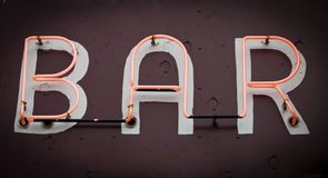Free Neon Bar Sign Stock Photo - 30455380