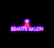 Neon beauty Royalty Free Stock Image