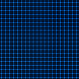 Neon blue grid Royalty Free Stock Photo
