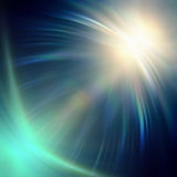 Neon blue lights Royalty Free Stock Image