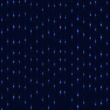 Neon blue rain abstract background Royalty Free Stock Photo