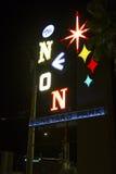 Neon Boneyard Sign Royalty Free Stock Photography