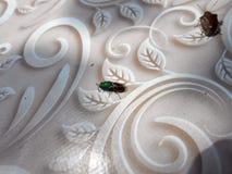 Neon bug stock image
