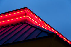 Neon Building Royalty Free Stock Photo