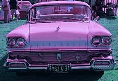 Neon Cadillac Royaltyfri Bild