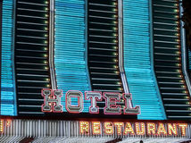 Neon casino marquee Stock Images