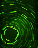 Neon circles abstract background Royalty Free Stock Photography