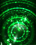 Neon circles abstract background Royalty Free Stock Image