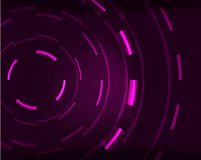 Neon circles abstract background. Neon purple circles vector abstract pattern background Vector Illustration