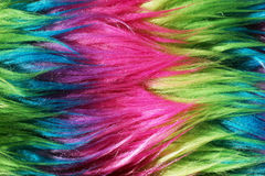 Neon color faux fur background 2 Royalty Free Stock Photography