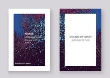 Neon colorful explosion paint splatter artistic covers design De Stock Photography