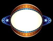 Neon della sfera Fotografia Stock