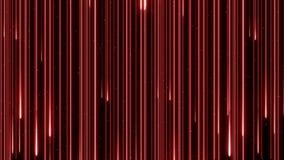 Neon die van de de kleurenregen van de voorraadlengte het mooie digitale de animatie4k lijn verlichten van het ontwerpconcept stock videobeelden