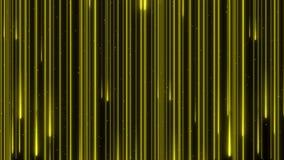 Neon die van de de kleurenregen van de voorraadlengte het mooie digitale de animatie4k lijn verlichten van het ontwerpconcept stock video