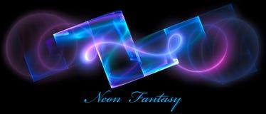 Neon fantasy Stock Images