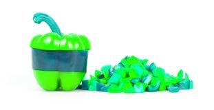 Neon farbiger Pfeffer Lizenzfreies Stockbild