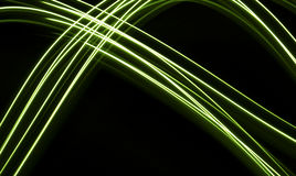 Neon fibres background Royalty Free Stock Photos