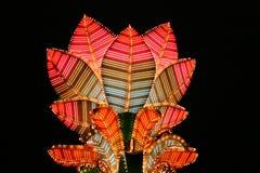 Neon flower Stock Photography