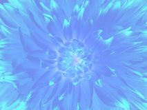 Neon flower background. For card Royalty Free Stock Photo