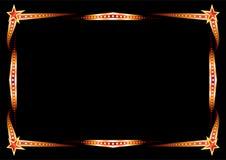 Neon frame Royalty Free Stock Image