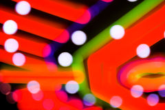 Neon gambling background Royalty Free Stock Images