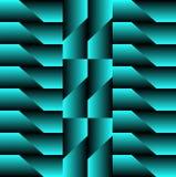 Neon geometrisch patroon voor vrekkig royalty-vrije illustratie